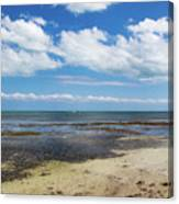 Low Tide In Paradise - Key West Canvas Print