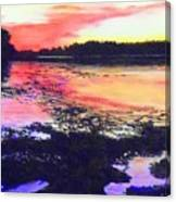 Low Tide On The Penobscot River Canvas Print