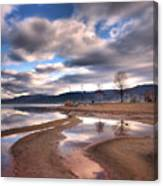 Low Waters Canvas Print