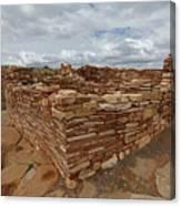 Lower Box Canyon Ruin Canvas Print
