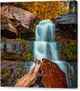 Lower Falls At Kaaterskill Canvas Print