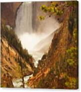 Lower Falls From Artists Viewpoint Canvas Print