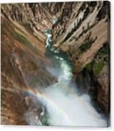 Lower Falls Rainbow Canvas Print