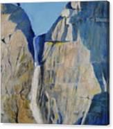 Lower Falls, Yosemite Canvas Print
