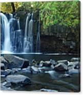 Lower Johnson Falls Canvas Print