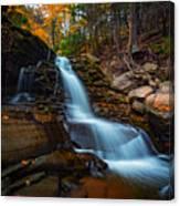 Lower Kaaterskill Falls Canvas Print