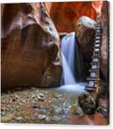 Lower Kannara Creek Falls Canvas Print