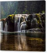 Lower Lewis Falls Canvas Print