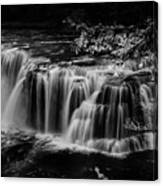 Lower Lewis Falls Washington State Canvas Print