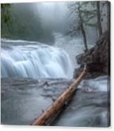 Lower Lewis River Falls Canvas Print