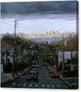 Lower Manhattan 2002 Canvas Print