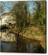 Lower Mill Of Cullompton  Canvas Print