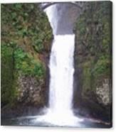 Lower Multnomah Falls Canvas Print