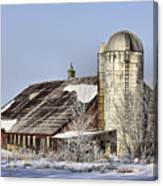 Lower Newton Rd. Barn Canvas Print
