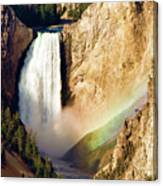 Lower Rainbow Of Colors Canvas Print
