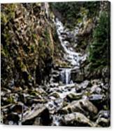 Lower Reid Falls Canvas Print