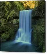 Lower South Falls Landscape Canvas Print