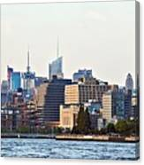 Lower West Side On The Waterfront Canvas Print