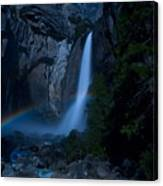 Lower Yosemite Falls Moonbow Canvas Print