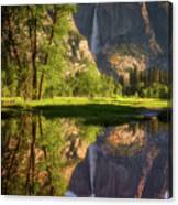 Lower Yosemite Morning Canvas Print