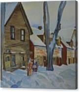 Lowertown Scene No. 2 Canvas Print
