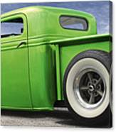 Lowrider At Painted Desert Canvas Print