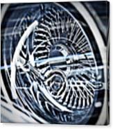Lowrider Wheel Illusions 1 Canvas Print