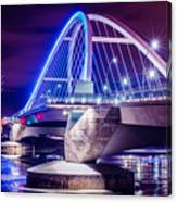 Lowry Bridge @ Night Canvas Print