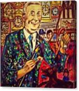 Lowry's Painting Suit Vintage Canvas Print