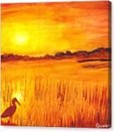 Loxahatchee Sunrise Canvas Print