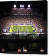 Lsu Aerial View Of Tiger Stadium Canvas Print