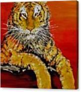 Lsu Tiger Canvas Print