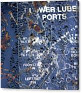 Lube Port Canvas Print