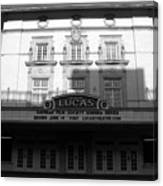 Lucas Movie House 1921 Canvas Print