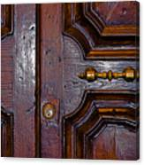 Lucca Door Canvas Print