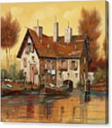 Luce Gialla Canvas Print