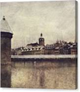 Lucerna, Kapellbrucke Canvas Print
