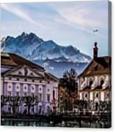 Lucerne's Architecture Canvas Print
