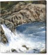 Lucia Falls Summer Canvas Print