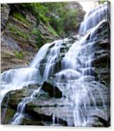 Lucifer Falls In Robert H. Treman State Park Canvas Print