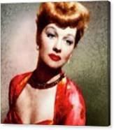 Lucille Ball, Vintage Actress Canvas Print