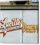 Lucille's Canvas Print