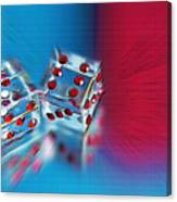 Lucky Dice Canvas Print