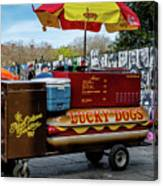 Lucky Dogs Canvas Print