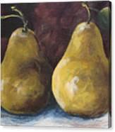 Lucky Pears Canvas Print