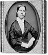 Lucy Stone, American Abolitionist Canvas Print