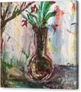 Lucy Vase Canvas Print