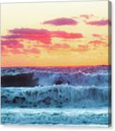 Lucy Vincent Surf Canvas Print
