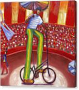 Ludi-circo Canvas Print
