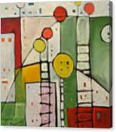 Lulu's Playground Canvas Print